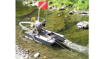 "4"" Mini Gold Dredge with 6.5HP Honda & Air Compressor"