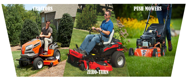 Mower types