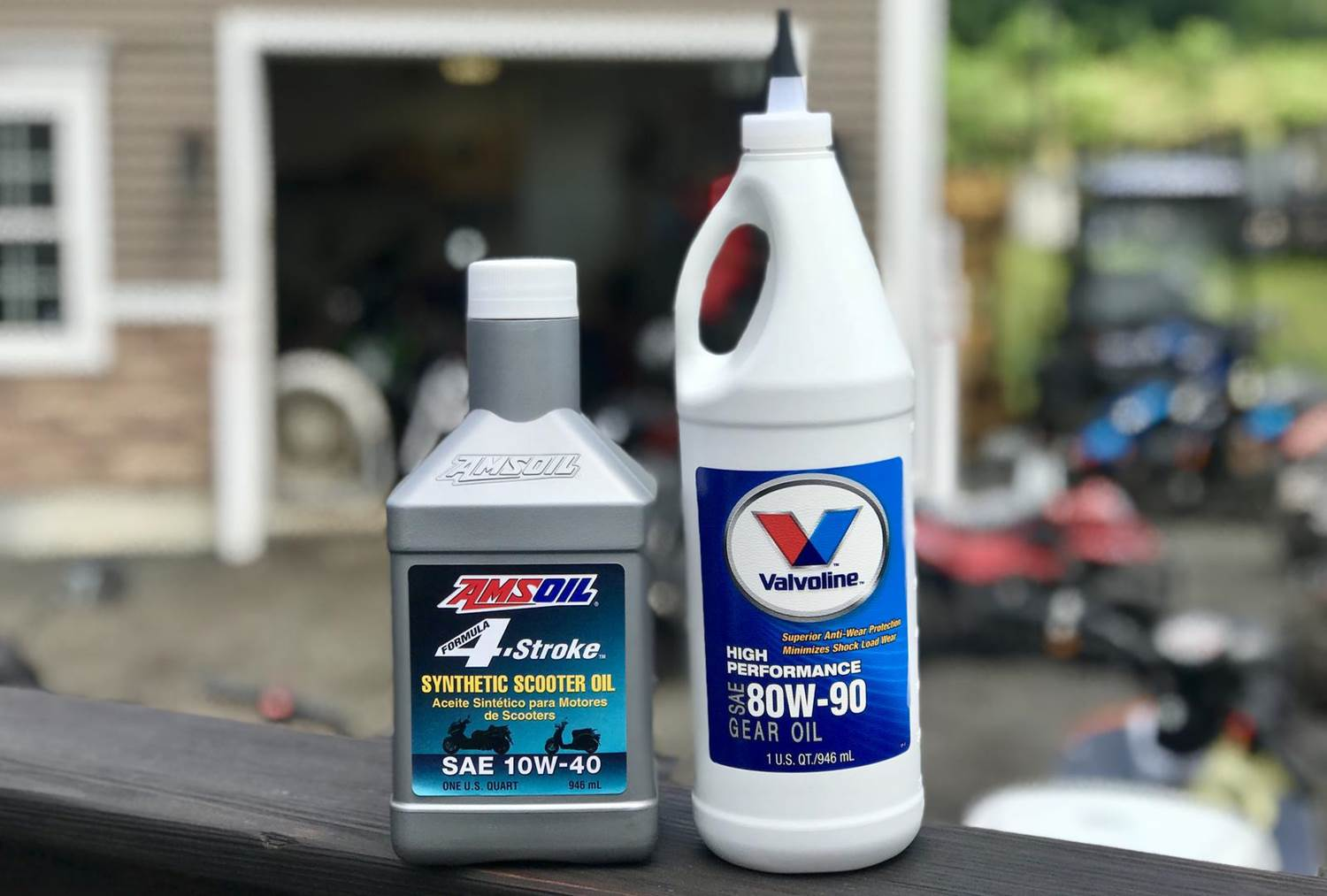 4 Stroke scooter Oils