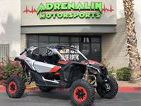 2020 Can-Am Maverick™ X3 X™ rs Turbo RR Gold, Red & Silver Insane power!
