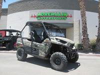 2015 Kawasaki Teryx Camo  Easy Financing! Best Deal in Town!