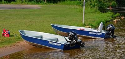 2013 MirroCraft Fishing Boat