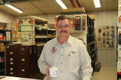 Vernon Sheward - Parts Manager
