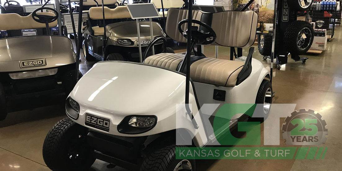 Gas powered used golf cart