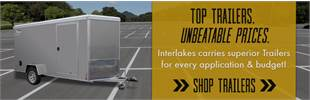 Shop Utility & Snowmobilie & PWC Trailers at Interlakes - the largest selection in SD!