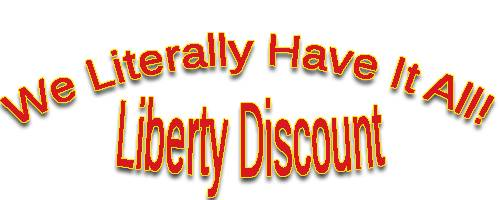 Liberty Discount Lawn Equipment: We literally have it all!