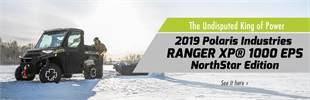 2019 Polaris Industries RANGER XP® 1000 EPS NorthStar Edition: Click here to view the model.