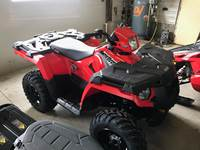 2019 Polaris Industries Sportsman® 450 H.O. - Indy Red