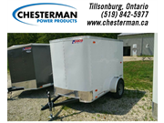 2019 Pace 5x8 Outback Enclosed Cargo Trailer - Bar