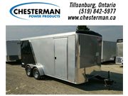 2019 Pace 7x16 Journey Cargo Trailer Rear Ramp