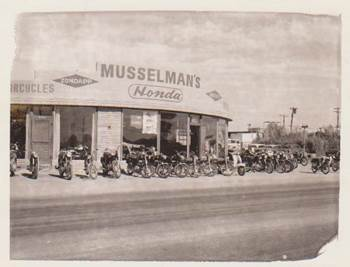 Musselman's Honda Early 1960s