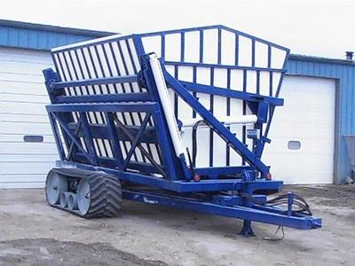 Grain Cart Undercarriage System Camso