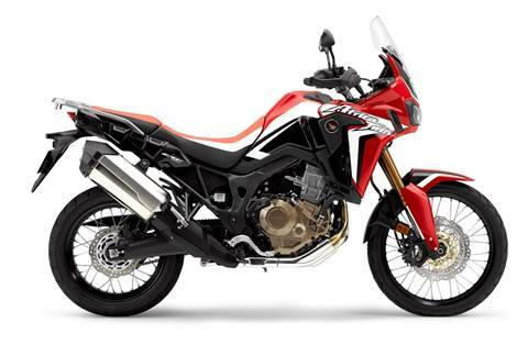 CRF1000 Africa Twin DCT Rally Red