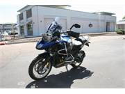 2014 BMW R1200GSA Blue 4