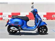 2020 VESPA GTS 300 SUPERSPORT BLUE 1