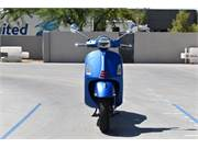 2020 VESPA GTS 300 SUPERSPORT BLUE 4