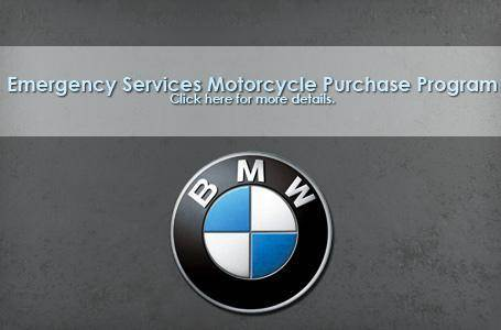 BMW - Emergency Services Motorcycle Purchase Program