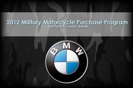 BMW - 2012 Military Motorcycle Purchase Program