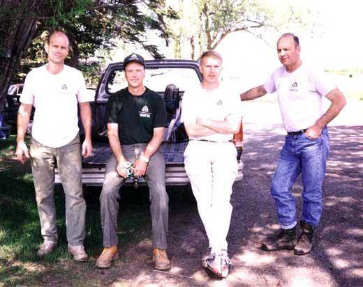 John, Carl, Tom, and Jim Grussendorf