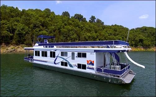 60' Houseboat Rental Lake Norfork