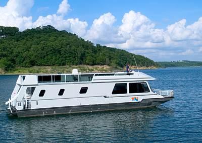 56' Houseboat Rental Lake Norfork