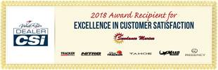 Sundance Marine was a recipient of the 2018 White River Marine Group Dealer CSI Award for excellence