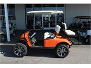 2019 EZGO TXT Freedom Gas Jacobson Orange (2)