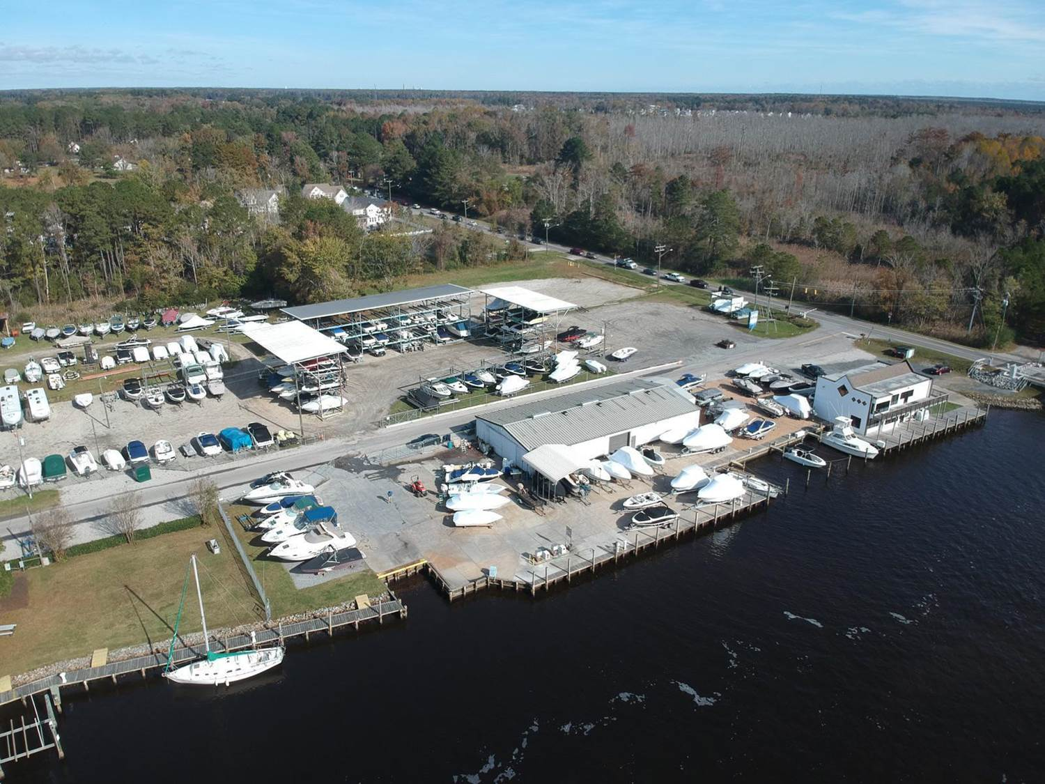 Centerville Marina Arial pic