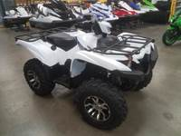 2019 Yamaha GRIZZLY 700 EPS White