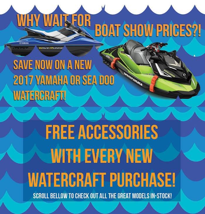 Sea-Doo Pre-Season Sales Event