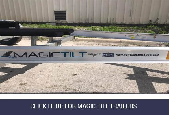 Magic Tilt Trailers Splash Image Portside Marine