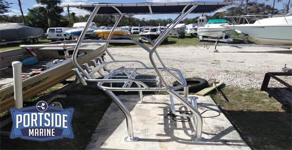 Custom T Top Portside Marine Orlando FL Boat Enging Repair
