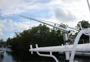 Outrigger T Top Installation Portside Marine Orlando FL Boat Engine Repair