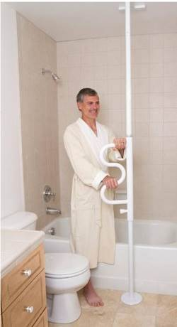 Bath Safety- Curvepole
