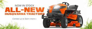 Roll Out With a Powerful Zero-Turn Mower! Husqvarna mowers in stock!
