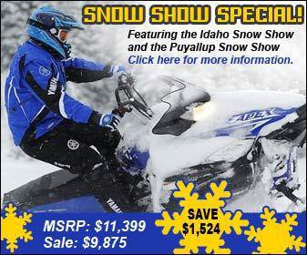 Snow Show Special! Featuring the Idaho Snow Show and the Puyallup Snow Show. Click here for more information. MSRP: $11,399. Sale: $9,875. Save $1,524.