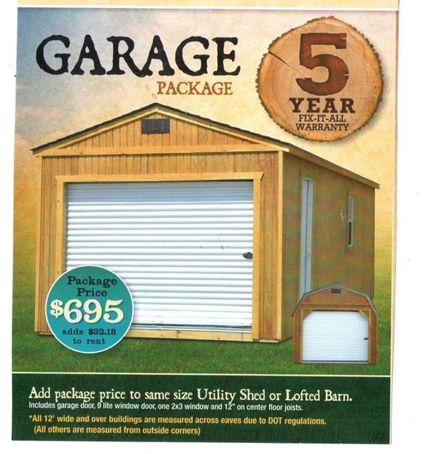 Garage package