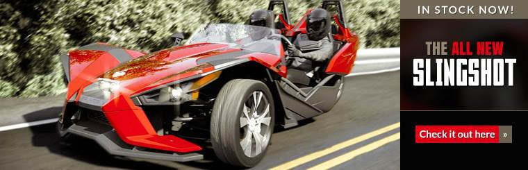 The all new Slingshot is in stock now! Click here for details.