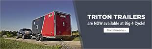 Triton Trailers are now available at Big 4 Cycle!