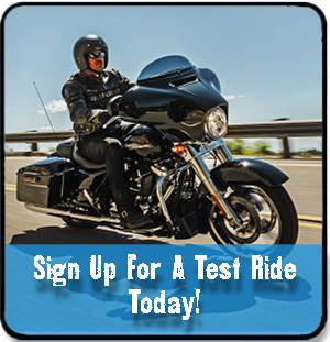 Sign up for a test ride