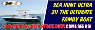 2019 Sea Hunt Models HH Boathouse Hilton Head SC