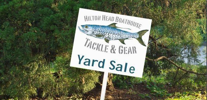 yard sale hh boathouse hilton head sc