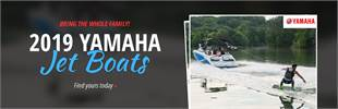 2019 Yamaha Jet Boats: Click here to view the models.