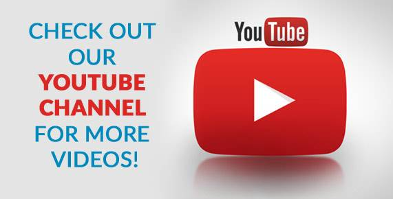Check out our Youtube Channel for more videos!