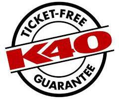 K40 Ticket-Free Guarantee