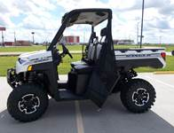 2019 Polaris Industries RANGER XP® 1000 EPS Ride Command® Upfitter Edition - Pearl White