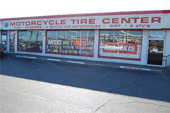 Motorcycle Tire Center store front