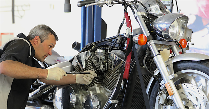 motorcycle repair 2