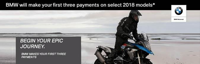 BMW Summer 2018 Promos - 3 payments