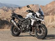 2019 Tiger 1200 XCA -- Crystal White